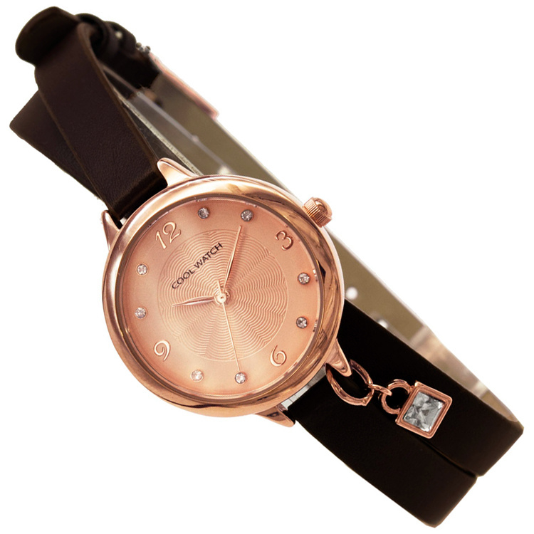 Coolwatch Double Tour Meidenhorloge Roségoud