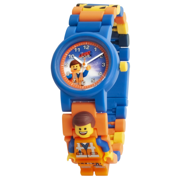 LEGO Movie 2 Emmet Schakel-Minifiguur Kinderhorloge