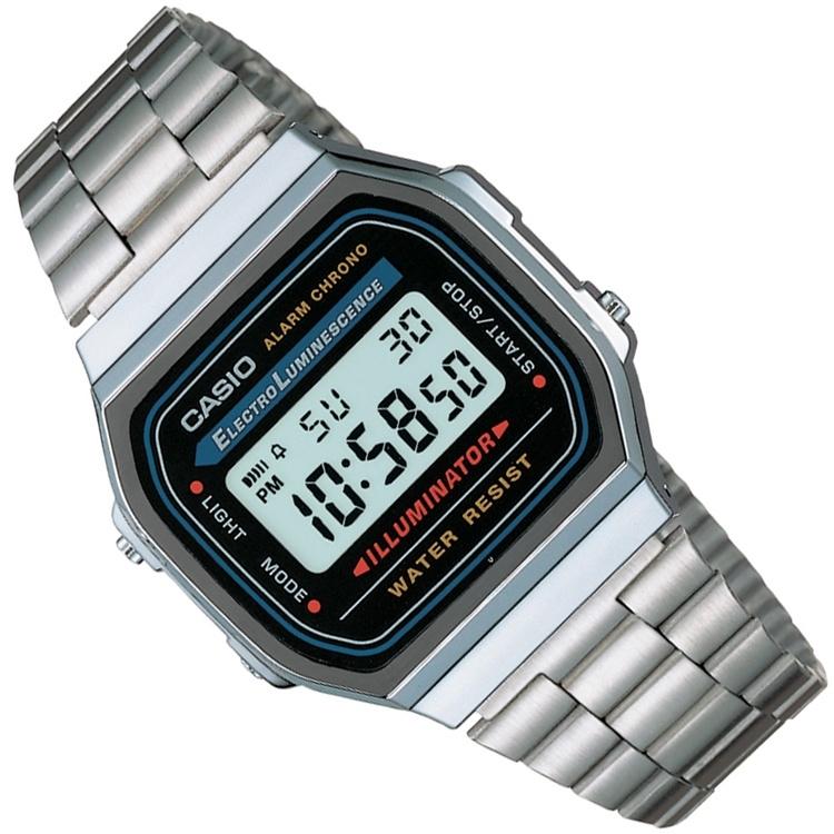 Casio Alarm Chrono Digitaal Horloge Illuminator 35mm