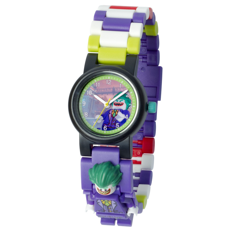 LEGO Batman Movie Joker Schakel-Minifiguur Kinderhorloge