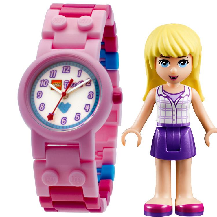 LEGO Friends Stephanie Minifiguur Meisjeshorloge
