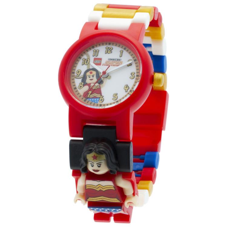 LEGO DC Wonder Woman Schakel-Minifiguur Kinderhorloge