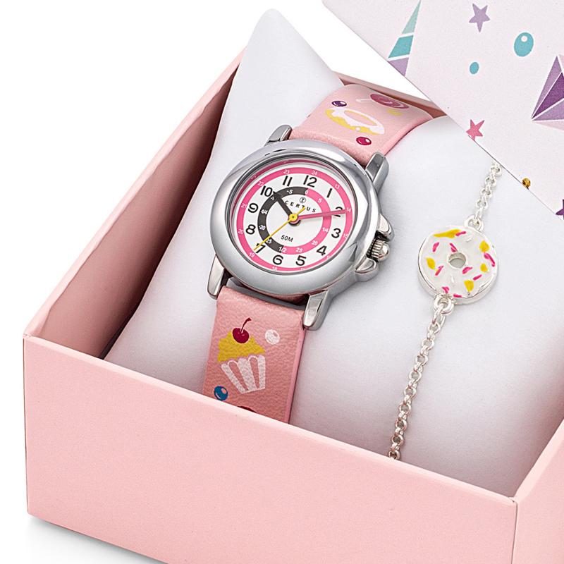 Certus Giftset Candy - Horloge met Armband 26mm Roze