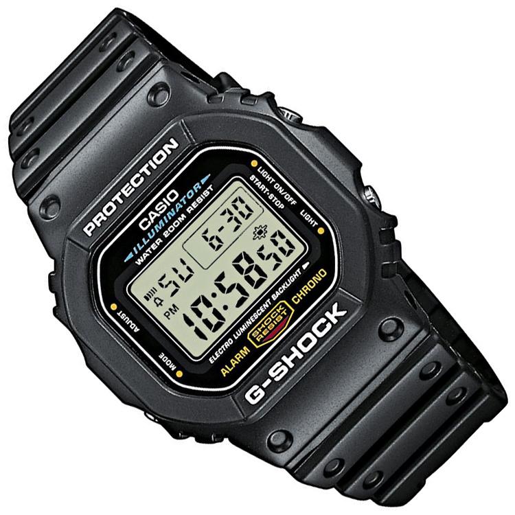 Casio G-Shock DW-5600E-1VER Horloge Digitaal