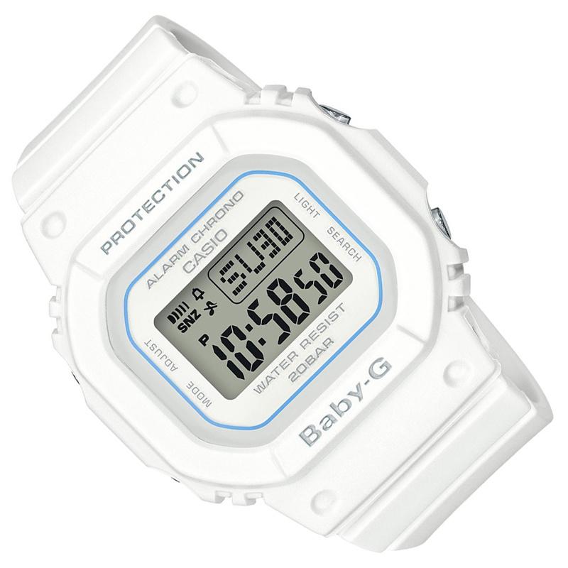 Casio Baby-G BGD-560-7ER Digitaal Horloge 5 Alarmen 20ATM