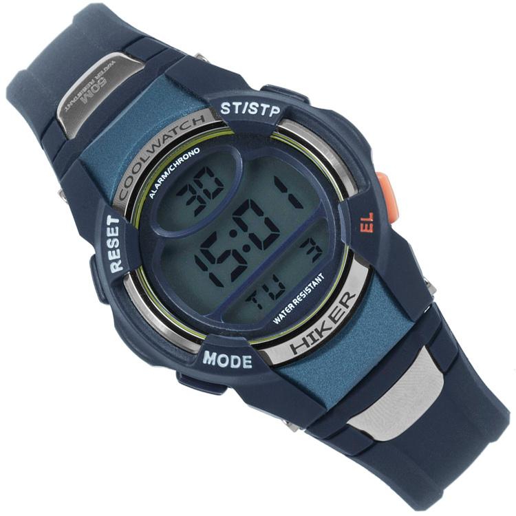 Coolwatch Digitaal Jongenshorloge Hiker Blue