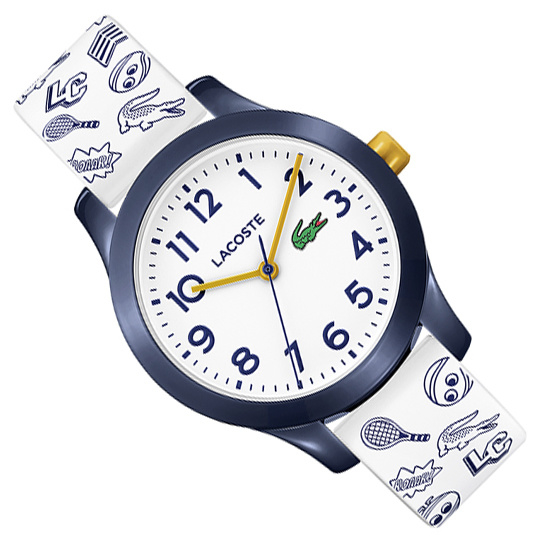 Lacoste 12.12 Kinderhorloge Blauw/Wit 32mm
