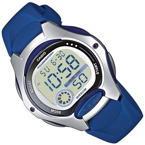 Casio Kinderhorloge Digitaal Alarm Blauw 35mm