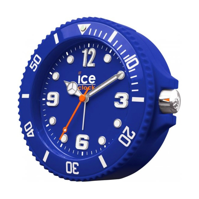 Ice-Watch Wekker Ice-Clock Blauw 14 cm - Geruisloos