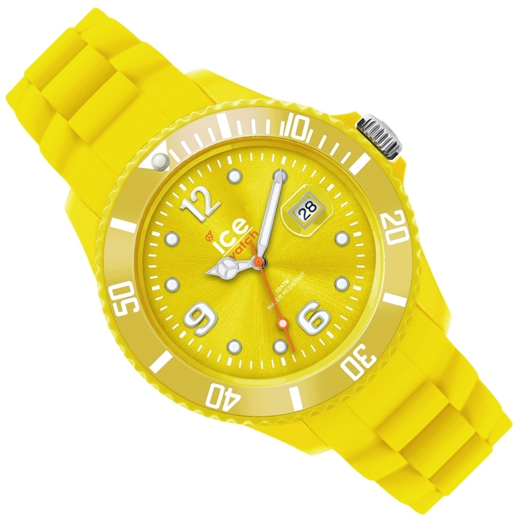 Ice-Watch Ice-Sili Small Yellow 38mm
