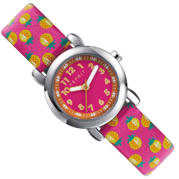 Esprit Meisjeshorloge Pineapple Pink