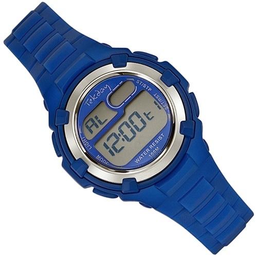 Tekday Digitaal Kinderhorloge 100m Blauw