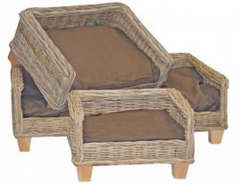 Surplus rotan bed
