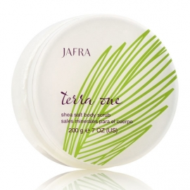 Jafra Terra One - Shea salt body rub