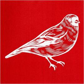 Glasets sjabloon vogel