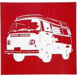 Glasets sjabloon VW bus