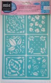 Glasets sjabloon blad UST14