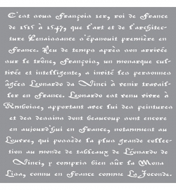 Old French script