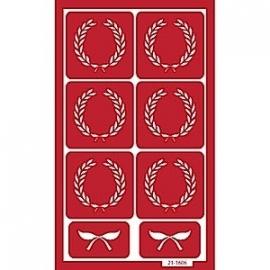 Glasets sjabloon Crest 21-1606