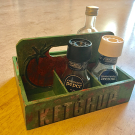 Tafelrekje voor kruiden of thee