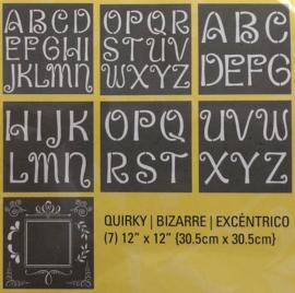 Dubbel xl alfabet