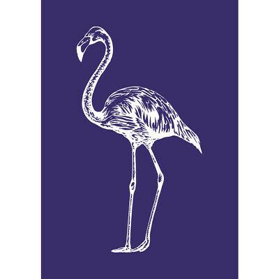 Glasets sjabloon Flamingo