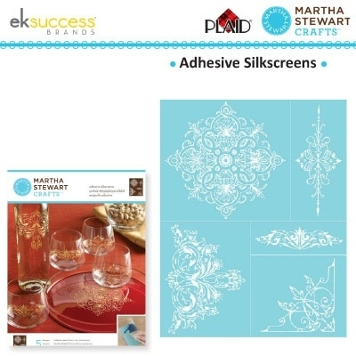 Glasets sjabloon Ornate accents 33239