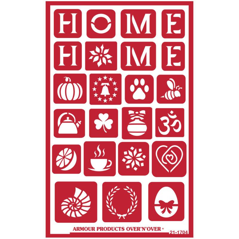 Glasets sjabloon Home 21-1704