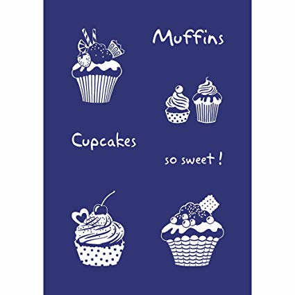 "glasets screen stencil ""cupcakes"" 45080000"