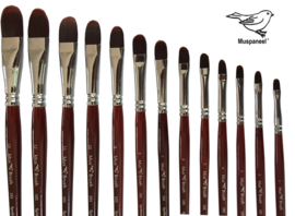 Mus-brush serie 101 No. 11 Lange steel p/st