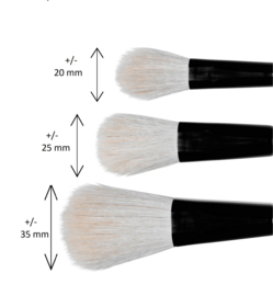 MusBrush Mop blender serie 701 No. 3 ( per stuk) geitenhaar
