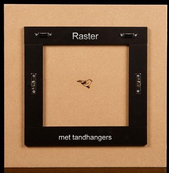 MusPaneel Raster ophangsysteem