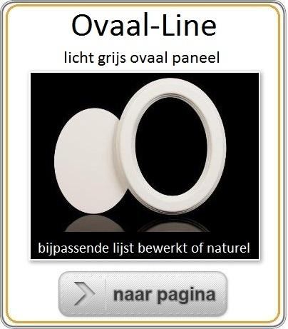 Mus Paneel Ovaal line