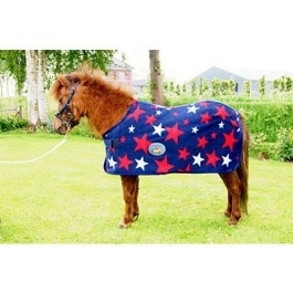 HB Harry and Hector Star fleece Blauw met Sterren 1320