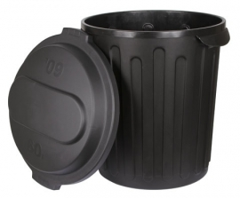 Voerton -Kerbl -met deksel, 60 liter
