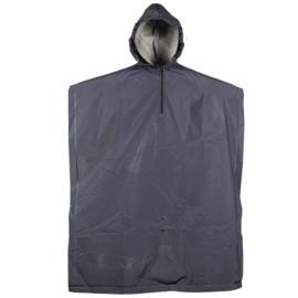 Regen Poncho donkerblauw