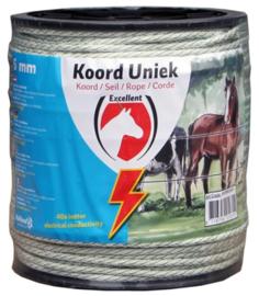 KOORD EXCELLENT UNIEK 200 M / 6 MM WIT / GROEN