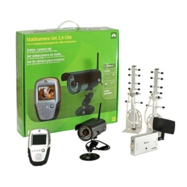 Stal & Trailer Camera Set 2,4 GHz compleet 1070