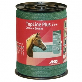 AKO TopLine Plus schriklint groen 2cm-200m 449109