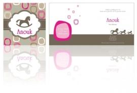 Geboortekaartje Anouk