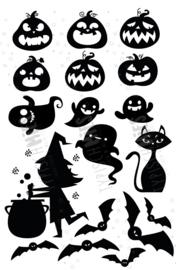 Raamstickerset Halloween