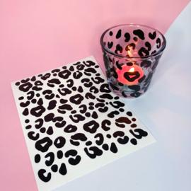Stickers tijgerprint