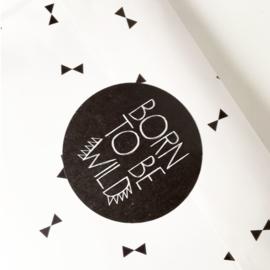 Stickers 'Born to Wild'