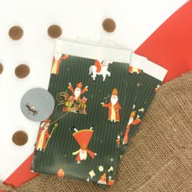 Sinterklaas inpakzakjes - acrobaat (5 stuks)
