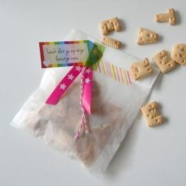 Pergamijn zakjes, 10 stuks