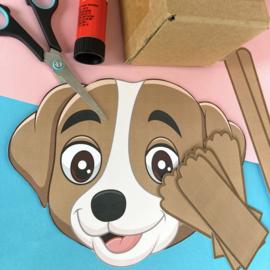 Last-minute easy Sinterklaas Suprise - hond
