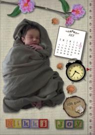 Geboortekaartje Nikki Joy