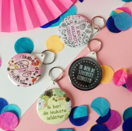 Buttons en sleutelhangers