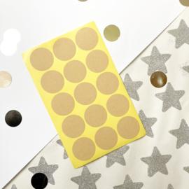 Kraft stickers