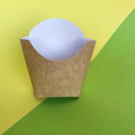 Kartonnen scoop bakjes (set van 4)